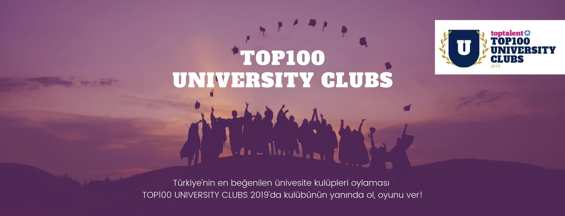 TOP100 UNIVERSITY CLUBS