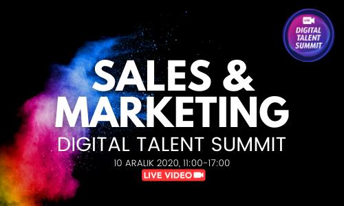 SALES & MARKETING Digital Talent Summit